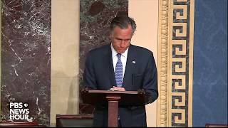 WATCH: Sen. Romney's full statement on Trump's impeachment trial | Trump impeachment trial