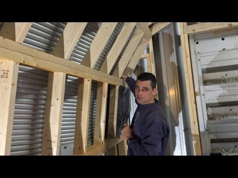 This Old Quonset Hut Ep 2 Framing Youtube