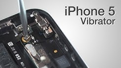Vibrator Repair - iPhone 5 How to Tutorial