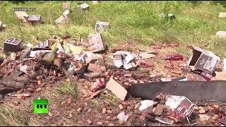 Виски течёт рекой: в Арканзасе из-за ДТП на шоссе вылились литры спиртного