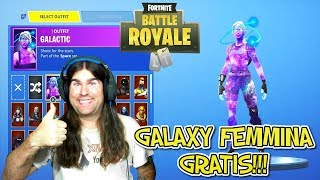 "HOW TO GET ""FREE"" LA SKIN GALAXY FEMALE!!! FORTNITE!!!"