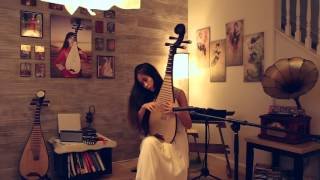 "Pipa Classic Piece ""Moonlight Over the Spring River"" 春江花月夜 琵琶 by Zhuxi Wang 王竹夕"
