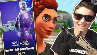 CHILD RATA USA HACK FOR THE NEW SKIN IN FORTNITE AND I HAVE IT RECORDED!! 😂😂 (TROLLEO at FORTNITE)