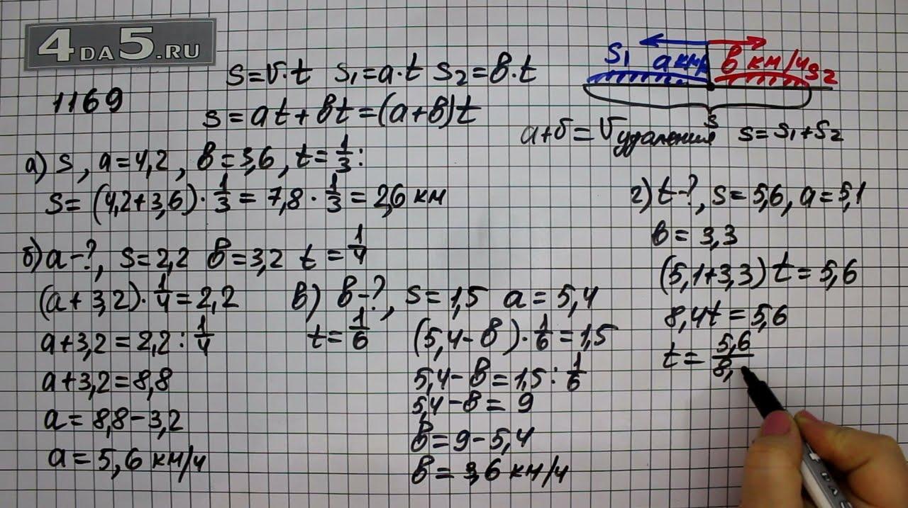 Гдз математика 6 класс 1173