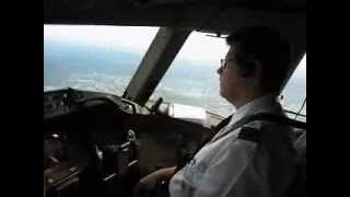 VARIG Pouso 777 Frankfurt Cabine