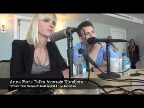 Anna Faris Talks Numbers - What's Your Number?
