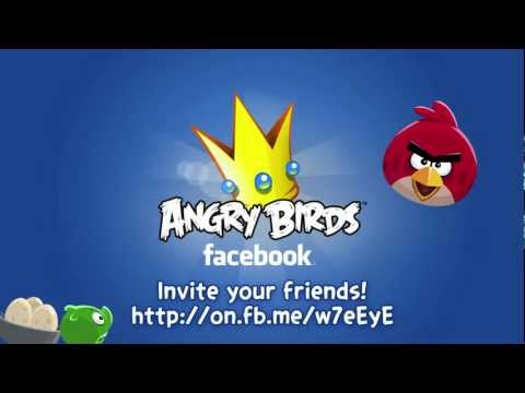Angry Birds Game Launched On Facebook