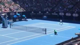 Novak Djokovic vs Istomin
