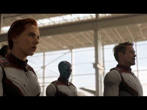 《复仇者联盟4》终极预告片发布,钢铁侠回到地球穿上全新战服,众人出发穿越量子领域