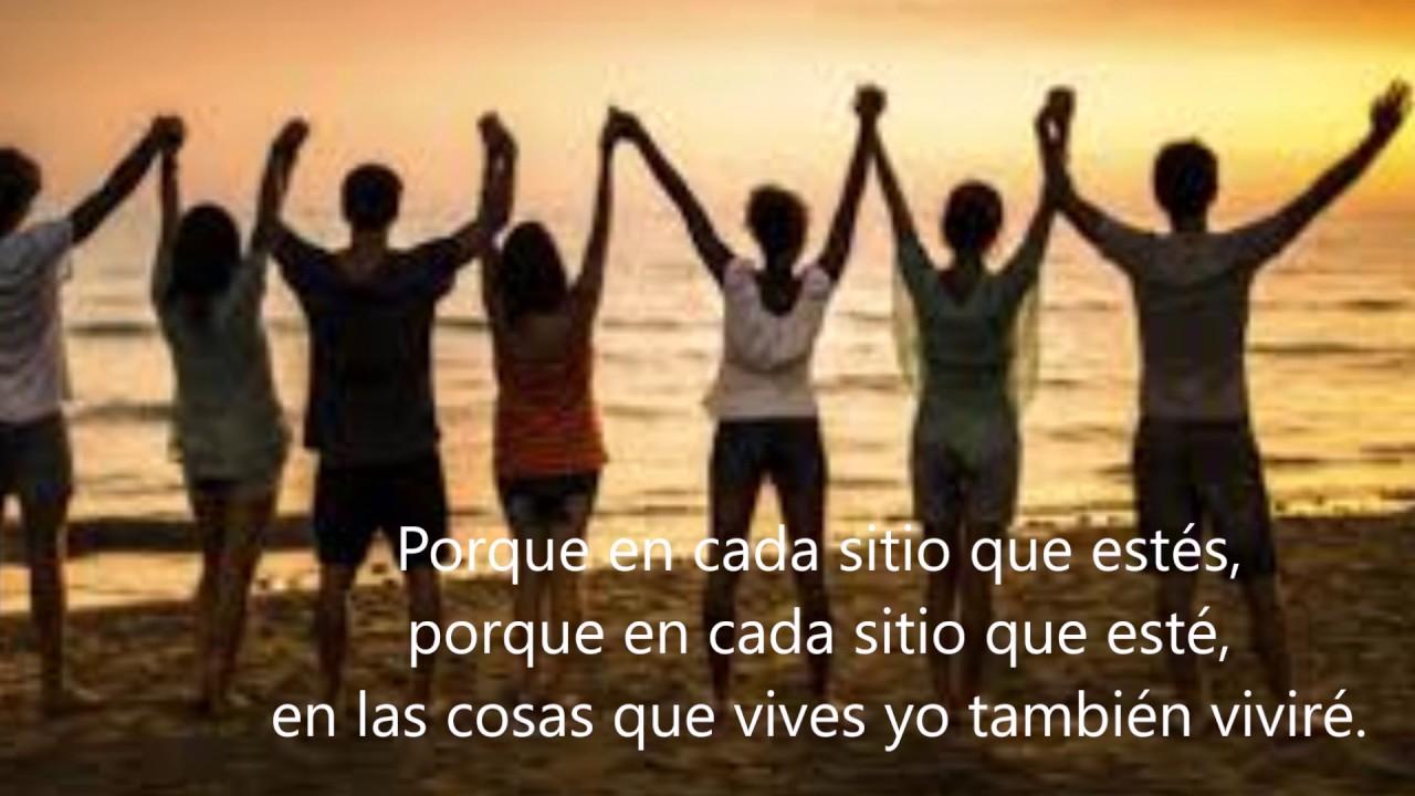 Imagem Para Grupo De Amigos No Whatsapp: LAS COSAS QUE VIVES(Laura Pausini) AMISTAD