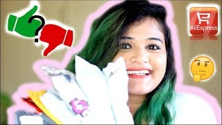 Aliexpress Haul and honest review India   tips and tricks for shopping   SO CHEAP !