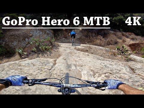 GoPro Hero 6 MTB | Aliso Canyon Park | Car Wreck - Bong Drop |