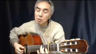 以前に歌とギターを別にやったものの(http://www.youtube.com/watch?v=...