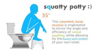 Squatty Potty® Video de información