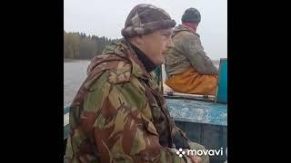 Осенняя рыбалка сетями
