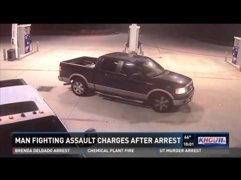 Houston Police Officer, falsely arrest man and it is caught on camera