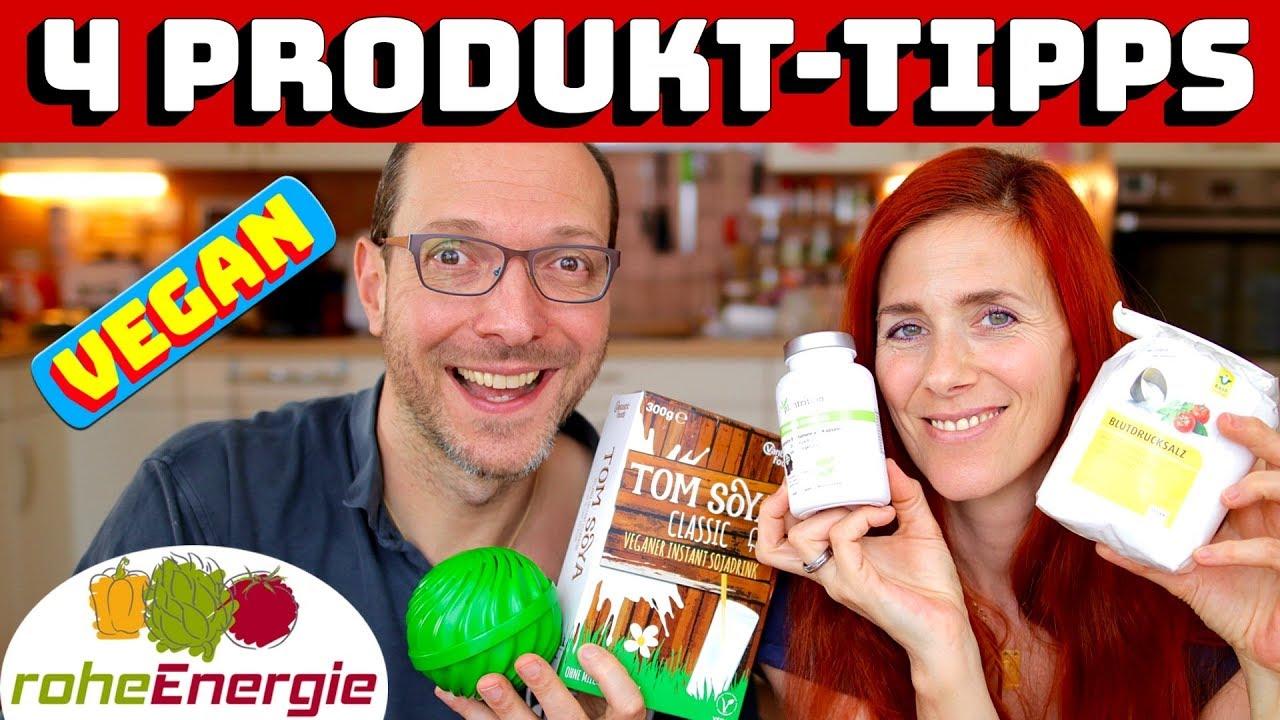 VEGAN IM ALLTAG  4 Produkte  Gehirn, Wäsche, Urlaub und Salz