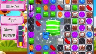 Candy Crush Saga Level 540 Clear all the Jelly!