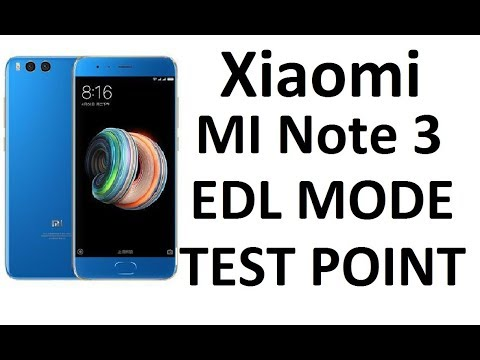 How to Boot Into EDL Mode on Mi Note 3 | Xiaomi Mi Note 3
