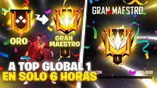 DE ORO A TOP GLOBAL 1 en SOLO 6 HORAS *TEMPORADA 21* LUAY