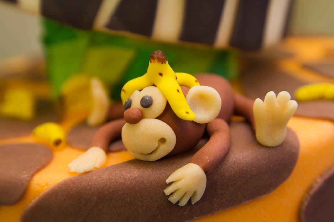 Como Hacer Banana Cake