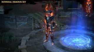 Path of Exile - Infernal Armour Set