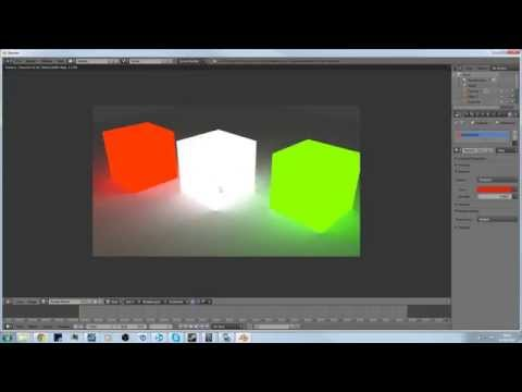 Blender tutorial: Make Object Emit Light (Cycles Render)