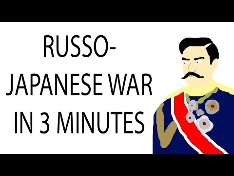 Russo-Japanese War | 3 Minute History