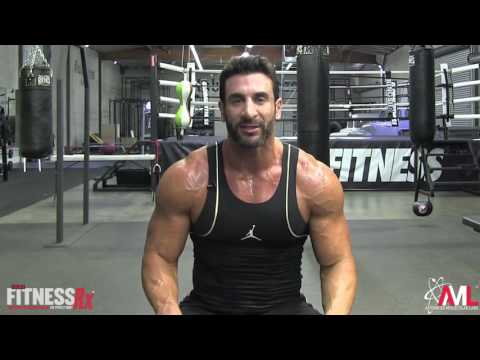Shoulder Training Tips for Maximizing Growth - Front Delt Cable Flyes
