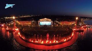 Amazing performance of Zenit's fans in St. Petersburg / Невероятный перфоманс фанатов «Зенита»