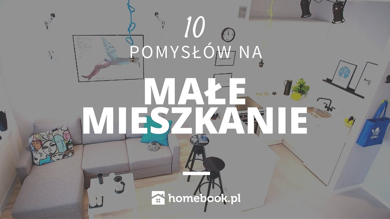 Jak urządzić małe mieszkanie - 10 pomysłów #aranżacja wnętrz #projekty