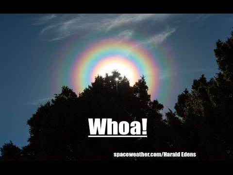 Multiple Rings Observed in the Sky Around Sun | *NEW NEO* zips past Earth!