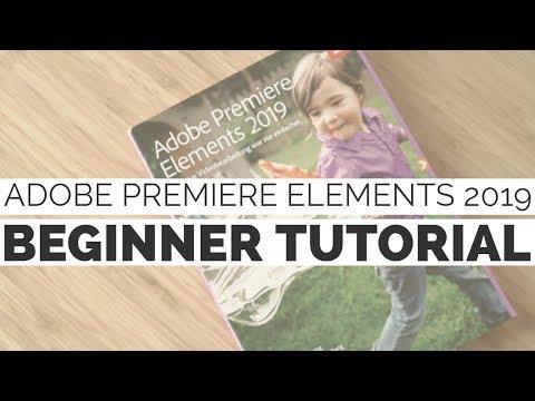 Einen Film Schneiden In Adobe Premiere Elements 19 | Beginner Tutorial Deutsch (2019)