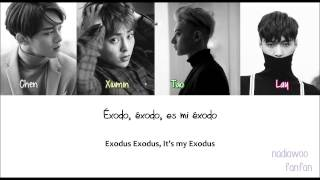 EXO - EXODUS (逃脫) Chinese Version [ Sub Español /PinYin/Chinese] (Color Coded)