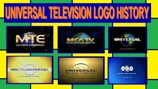 Universal Television Logo History (1955-present)