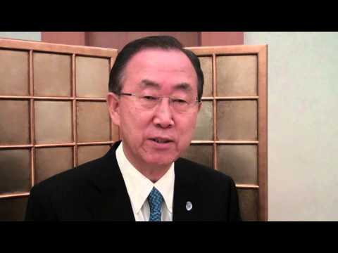 UN Secretary-General on Security Council's approval of the OPCW-UN Joint Mission