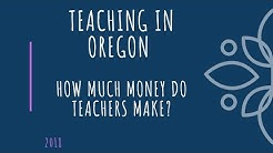 The cost of being a teacher in Portland, Oregon