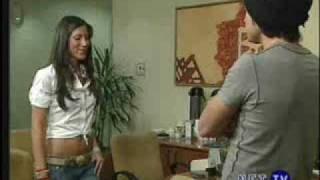 Miguel discute con sabrina, por lo del video - Rebelde - RBD