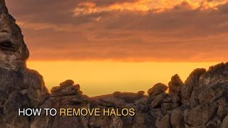 Halos are one of the most common and painful problems with exposure blending. These are the dark or light little lines along high contrast edges of buildings, ...