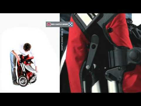 poussette shop 39 n jogg red castle youtube. Black Bedroom Furniture Sets. Home Design Ideas