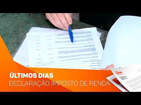 Últimos dias para declaração do Imposto de Renda - TV SOROCABA/SBT