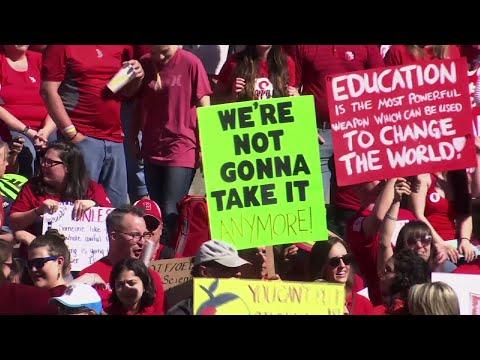 Arizona, Colorado Teachers Strike For Pay