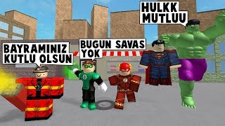34 EN SUPERHEROISME. DAY HOLIDAY VISITS / Roblox Anglais / MadCity Roleplay