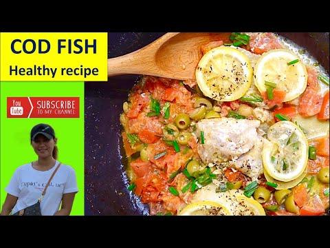 Healthy Cod Fish Recipe