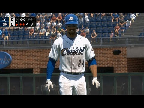 MLB The Show 18 - Omaha Storm Chasers vs Kansas City Royals - Gameplay (PS4 HD) [1080p60FPS]