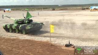 Танковый биатлон 2014: В первый день казахстанцы финишировали со сломанным крылом