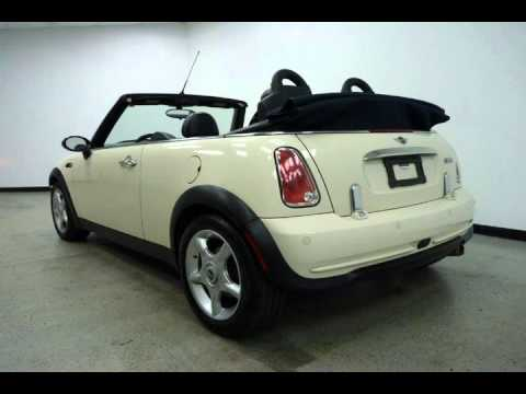 2006 Mini Cooper Convertible White Arlington Tx