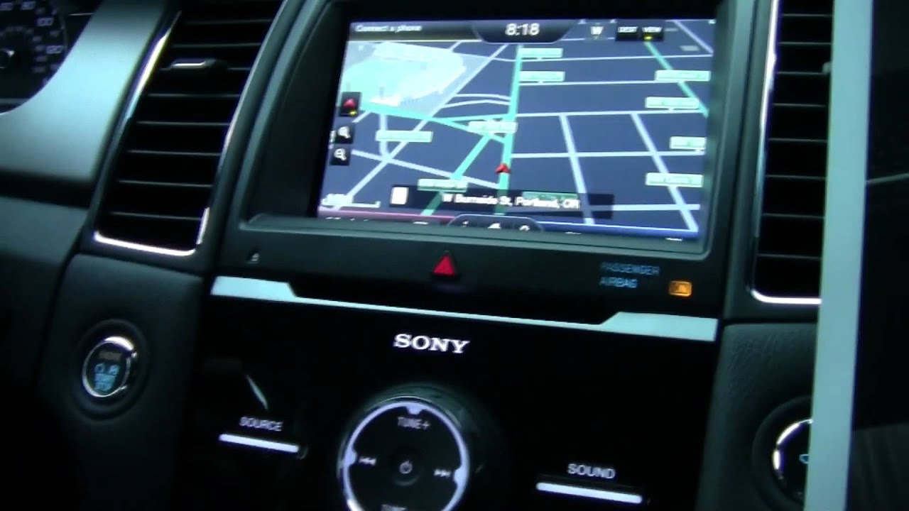 2013 Ford Taurus SHO Drive Impression - YouTube Ford Sony Audio System Review on ford focus stereo system, 2012 ford focus audio system, ford jbl audio system, ford edge audio system, pioneer car system, sony car system,