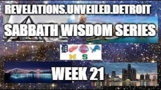 Sabbath Wisdom Series Week-21. 1 Kings, Proverbs,Ecclesiasticus, & Psalms.