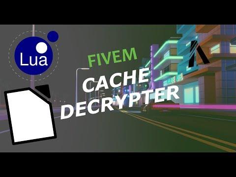 Fivem Cache Decrypter 2019
